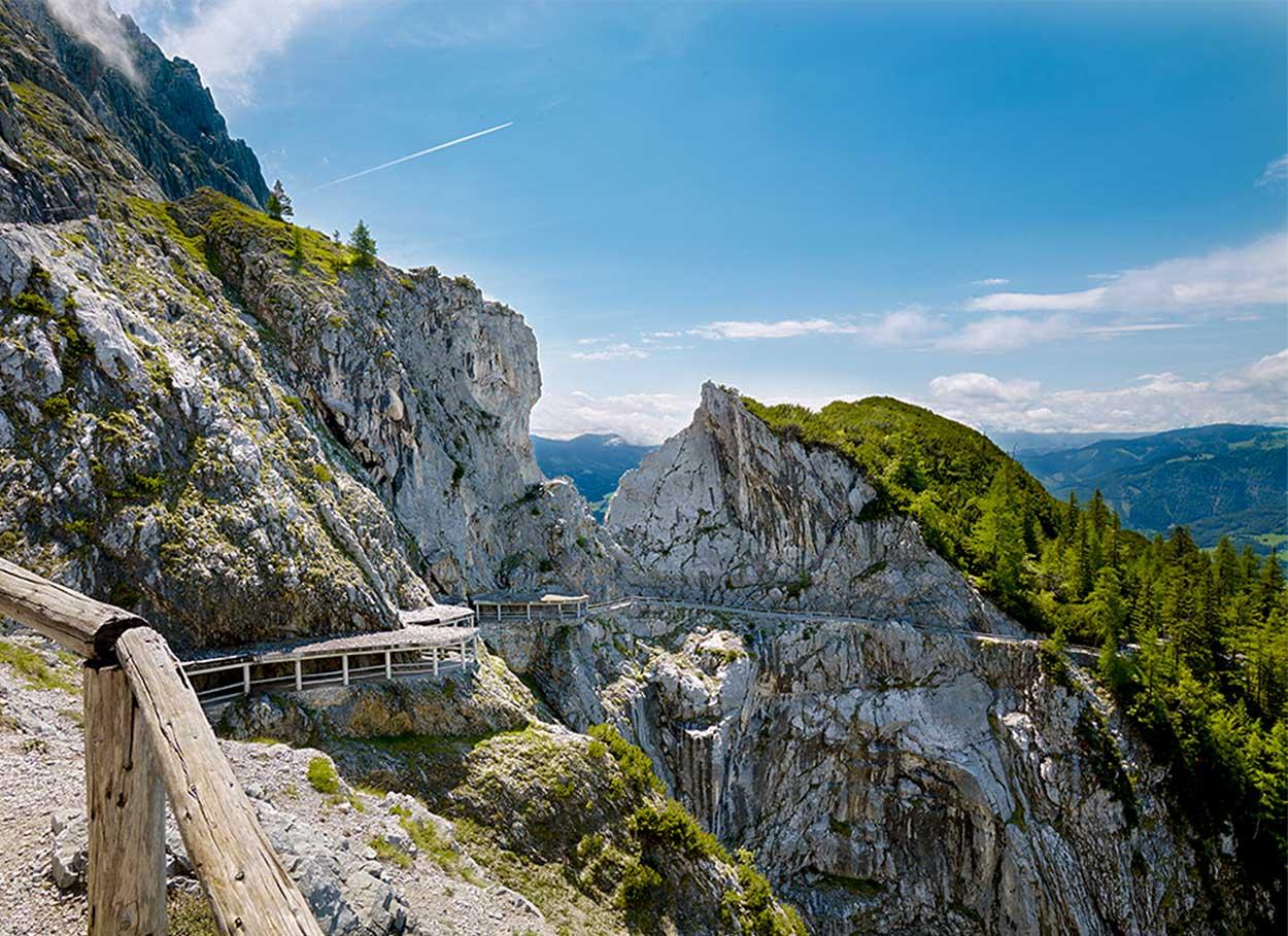 Ausflugsziel für Urlauber in Werfenweng