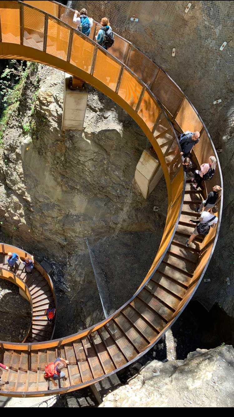 Lichtensteinklamm im Salzburger Land - Ausflugszie Urlaub auf dem Bauernhof