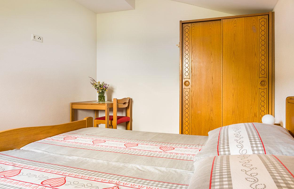 Alpenappartement Oberlehengut in Werfenweng - Doppelbett