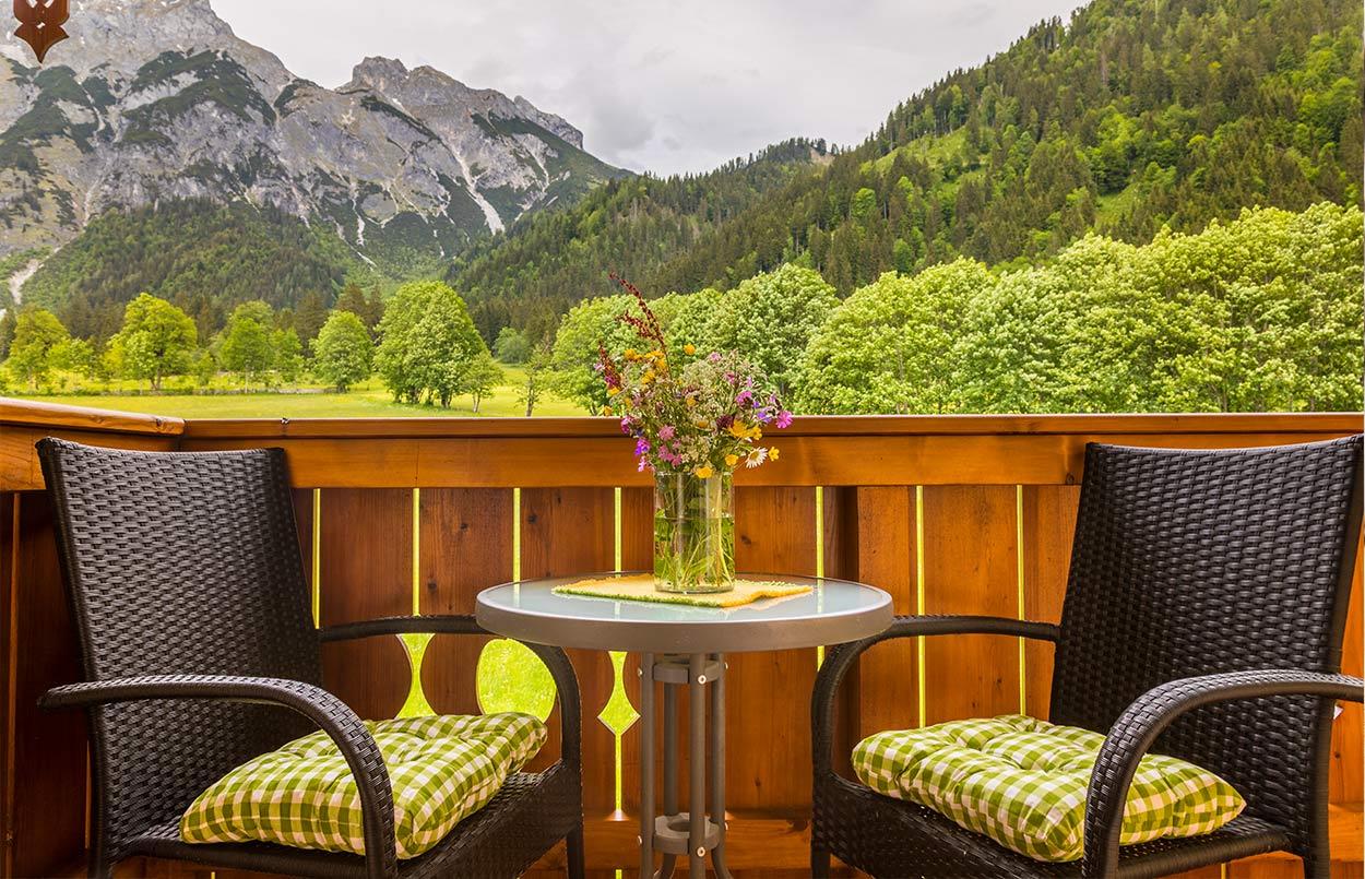 Ferienwohnung mit Balkon - Alpenappartement Oberlehengut Werfenweng bei Salzburg