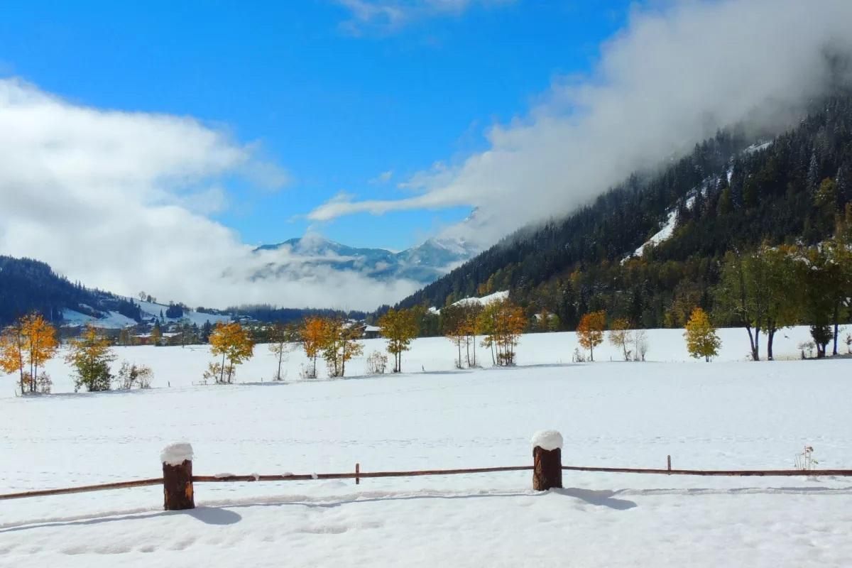 Winterlandschaft in Werfenweng in der Salzburger BErgwelt