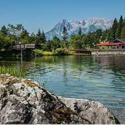 Freizeitpark Wengsee - Werfenweng - beliebtes Freizeitangebot für Urlauber in Werfenweng bei Salzburg