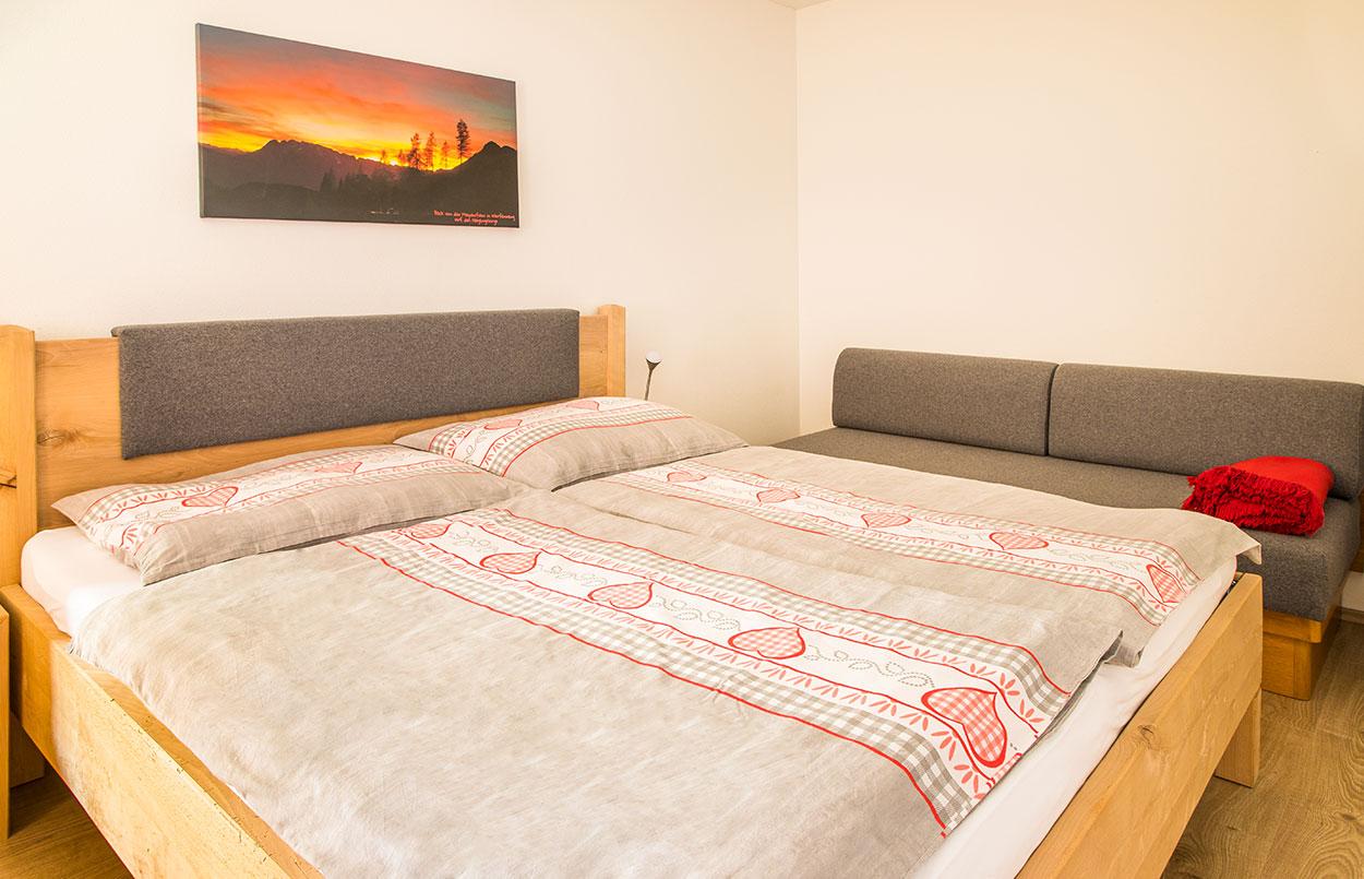 Ferienwohnung Alpenappartement Oberlehengut in Werfenweng Salzburg - Platz für 4 Personen