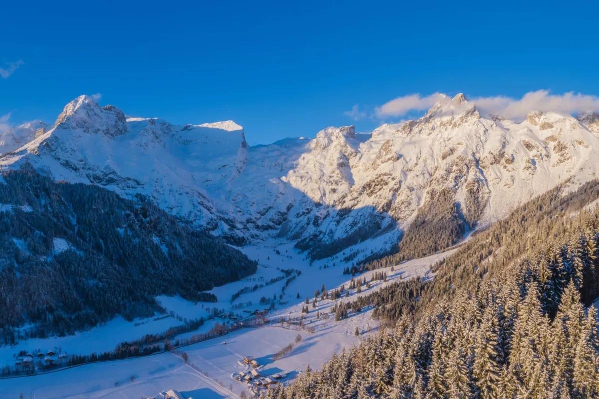 Skigebiet Werfenweng bei Salzburg