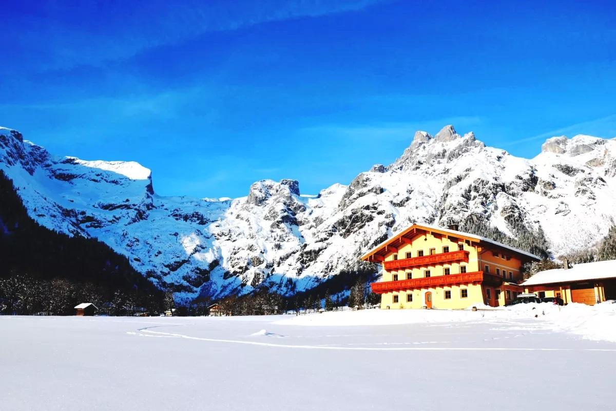 Skiurlaub Unterkunft Alpen Appartements Oberlehengut in Werfenweng