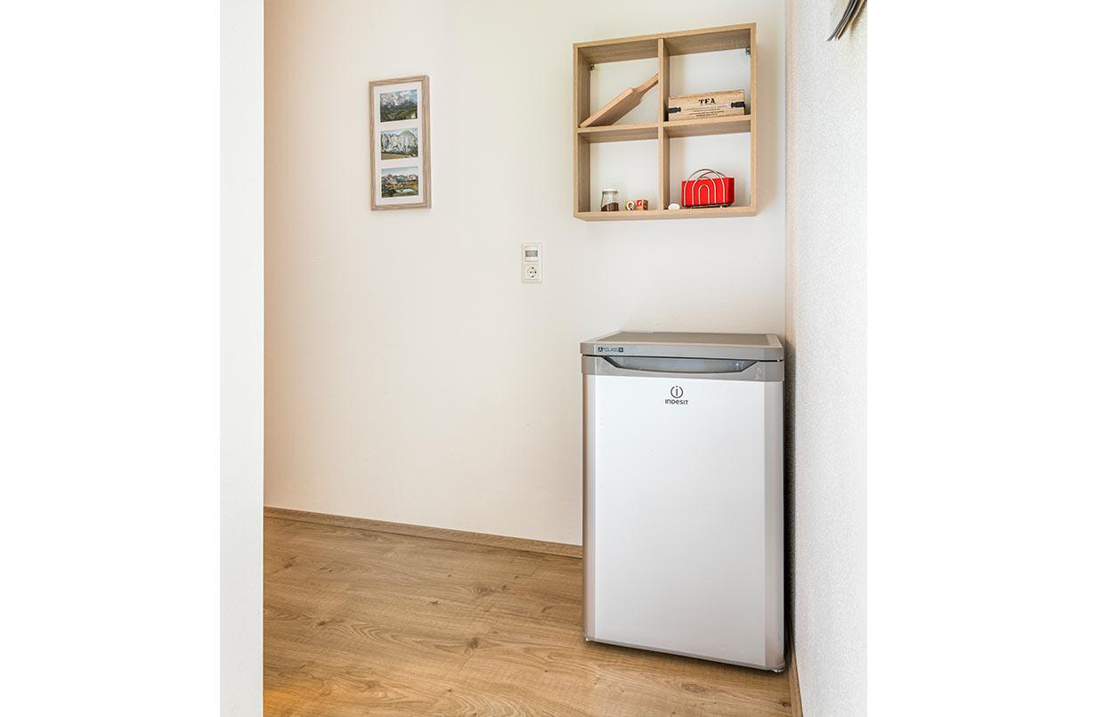 Kühlschrank Doppelzimmer Appartements Ferienwohnungen