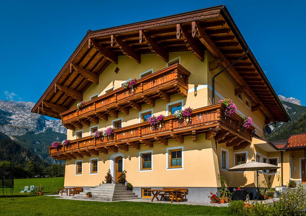 Alpenappartemente Haus in Werfenweng