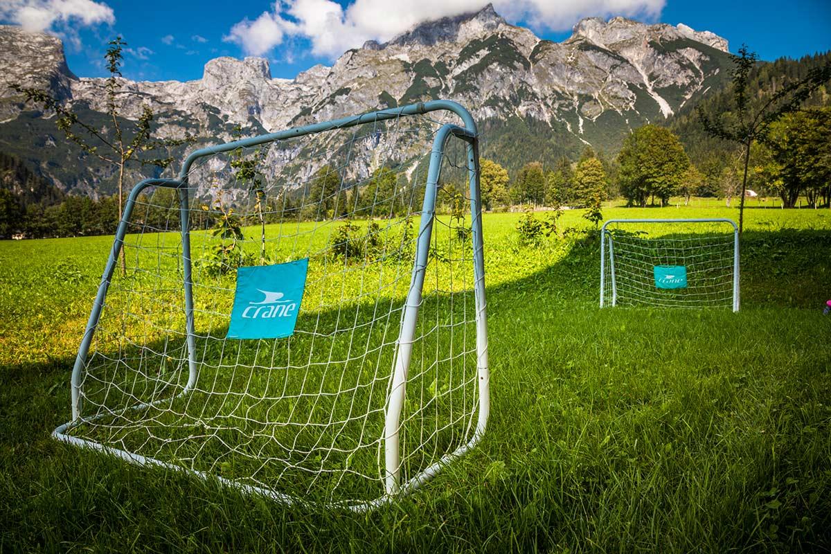 Fußballtore für die Gäste vom Alpenappartement Oberlehengut in Werfenenweng