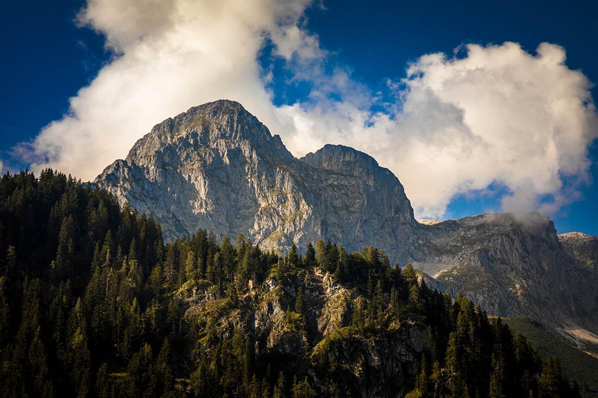Berge - Gebirge in Werfenwen -