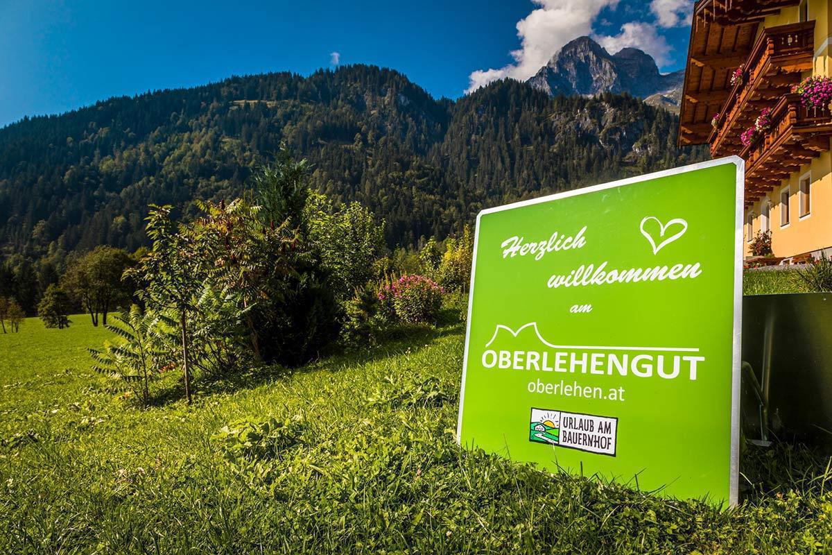 Willkommen am Oberlehengut - Familie Astner-Meisnitzer freut sich auf die Gäste